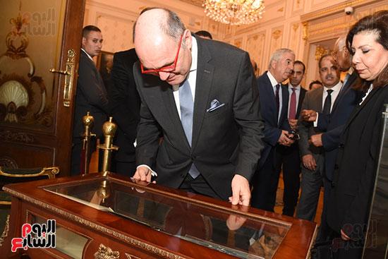 رئيس النواب لنظيره النمساوى (7)