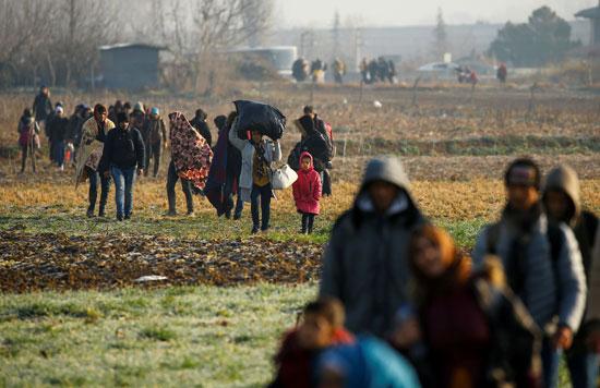 أعداد-كبيرة-من-اللاجئين-يطمحون-لدخول-الاتحاد-الأوروبى