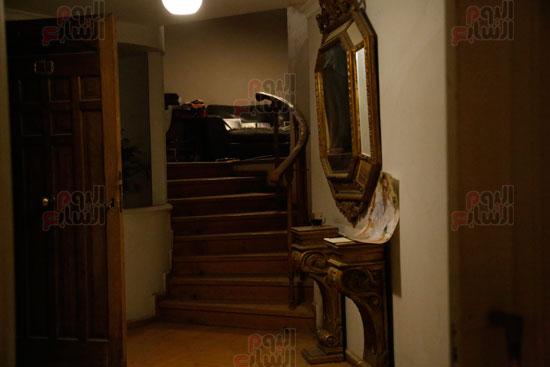 شقة الفنان أحمد زكي