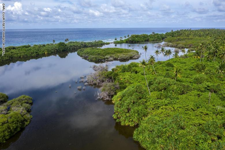أراضي Eedhigali Kilhi الرطبة في المالديف