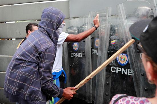 العنف ضد الشرطة