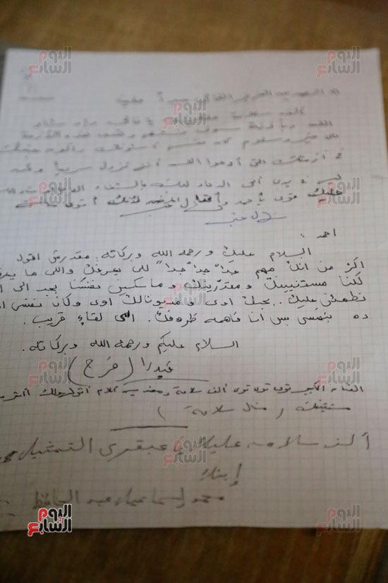 رسائل الفنانين إلي الراحل أحمد زكي أثناء رحلة مرضه (5)