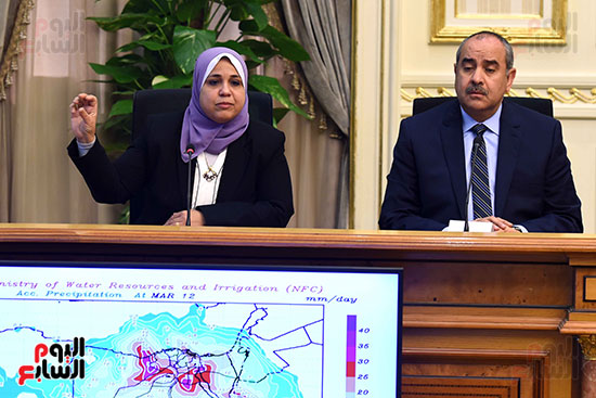 مؤتمر الحكومة حول حالة الطقس السيئ غدا (7)