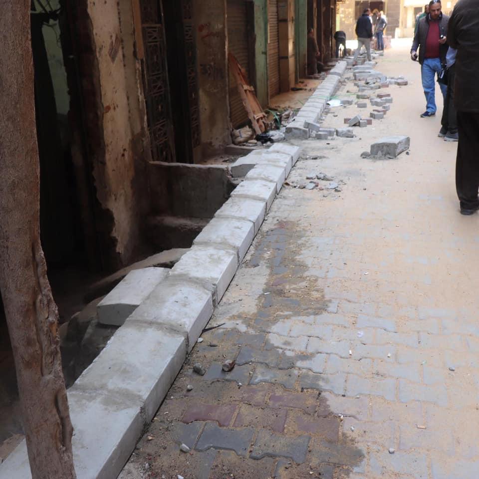 رصف شوارع شمال الجيزة  (2)