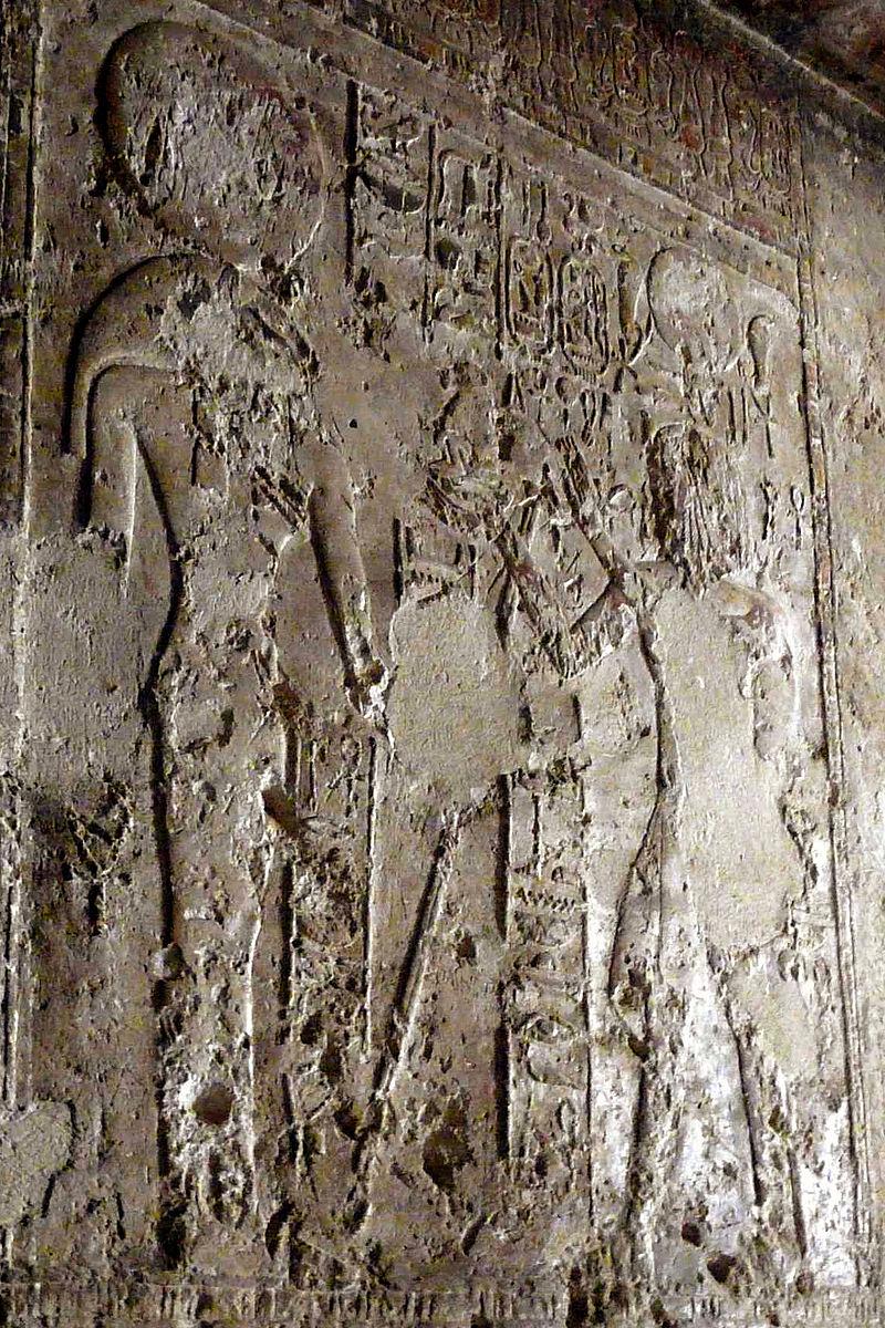 الإلهة باخت من جدران معبد سيبيوس أرتمديوس