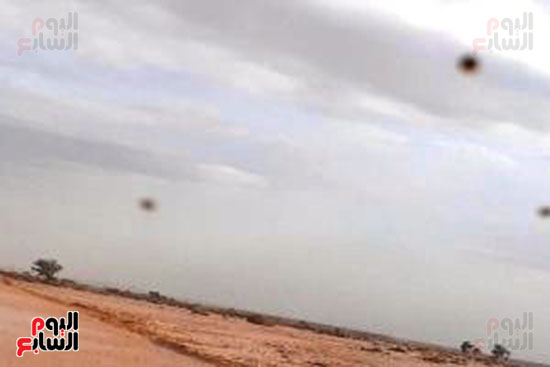 سيول تضرب مناطق وسط سيناء
