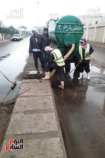 هطول أمطار رعدية علي مدن الشرقية لليوم الثاني (4)