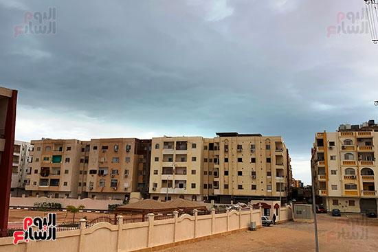 ستقرار نسبي في حالة الطقس بالغردقة ورياح متوسطة بغارب والزعفرانة مع ظهور سحب كثيفة (1)