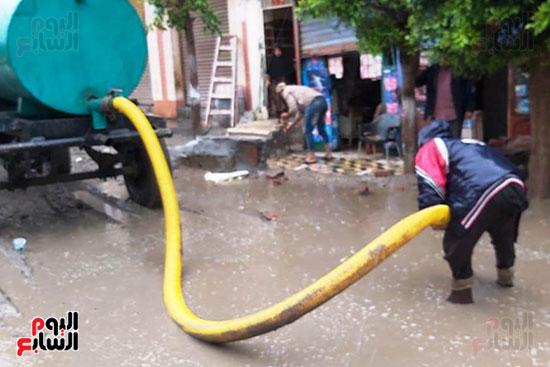 هطول أمطار رعدية علي مدن الشرقية لليوم الثاني (9)