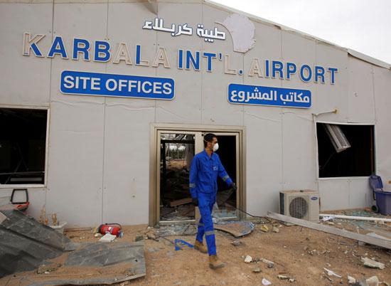 مطار كربلاء تحت الإنشاء