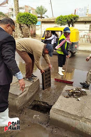 هطول أمطار رعدية علي مدن الشرقية لليوم الثاني (3)