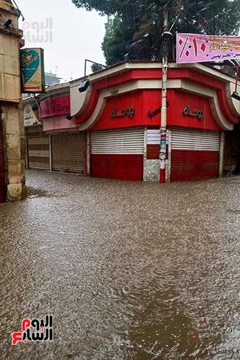 هطول أمطار رعدية علي مدن الشرقية لليوم الثاني (7)