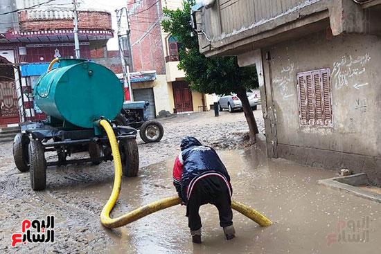 هطول أمطار رعدية علي مدن الشرقية لليوم الثاني (8)