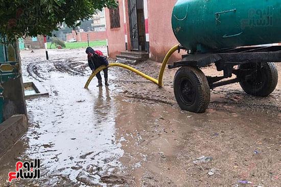 هطول أمطار رعدية علي مدن الشرقية لليوم الثاني (1)