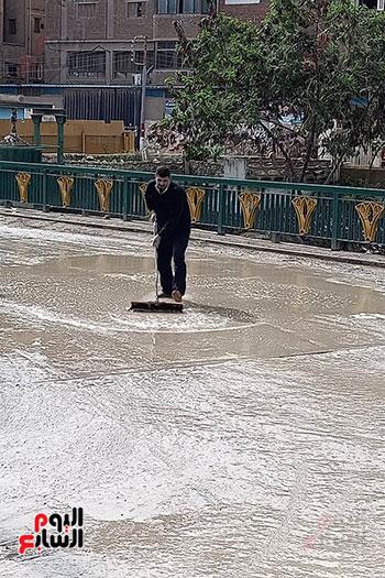 هطول أمطار رعدية علي مدن الشرقية لليوم الثاني (5)