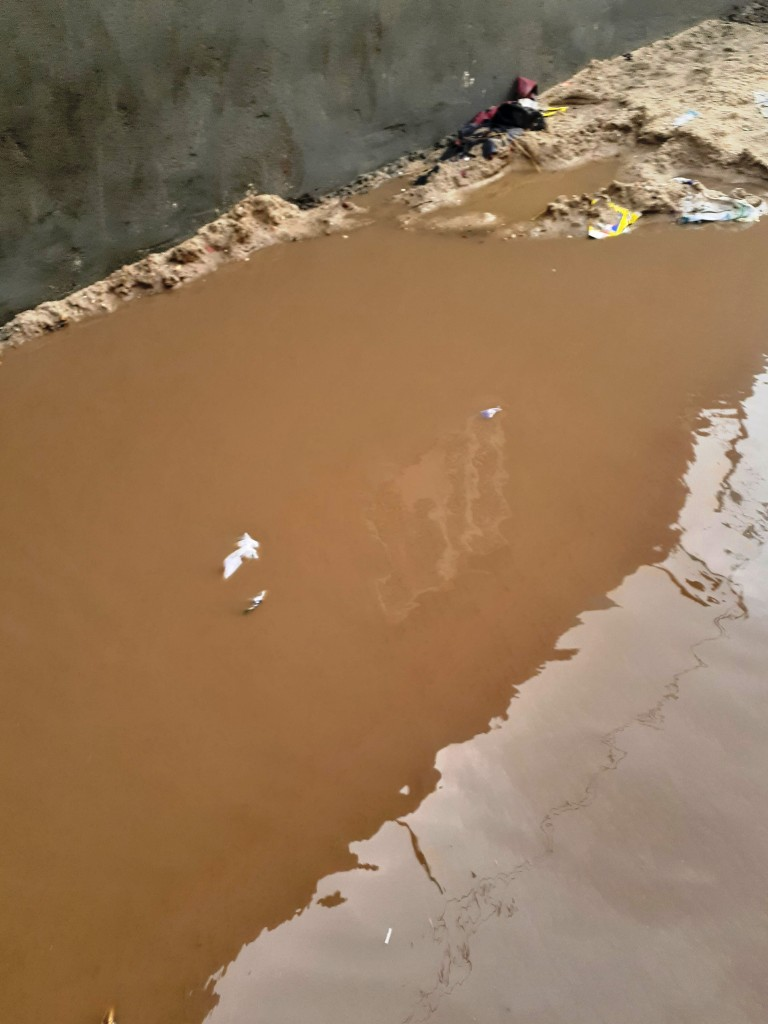 مياه الأمطار تحاصر قرية شطانوف بالمنوفية (16)