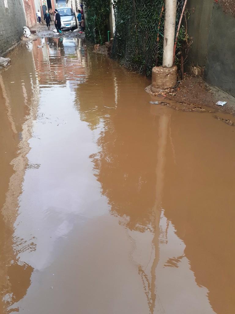 مياه الأمطار تحاصر قرية شطانوف بالمنوفية (15)