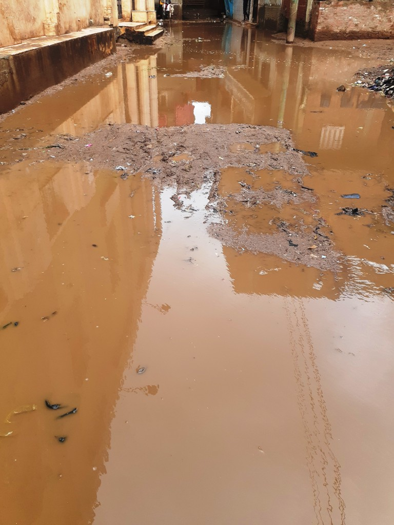 مياه الأمطار تحاصر قرية شطانوف بالمنوفية (2)