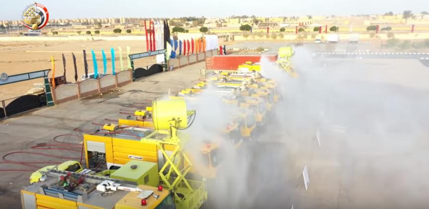 وحدات طرد الهواء بالجيش المصرى لمواجهة مخاطر كورونا