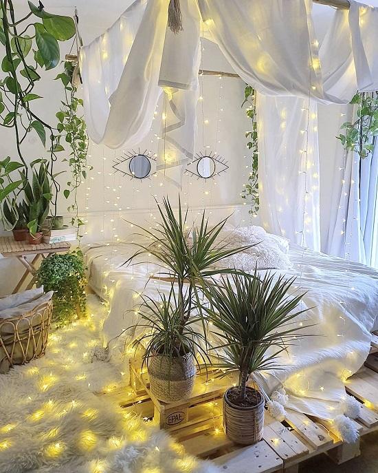 إطارات سرير بأربع أعمدة