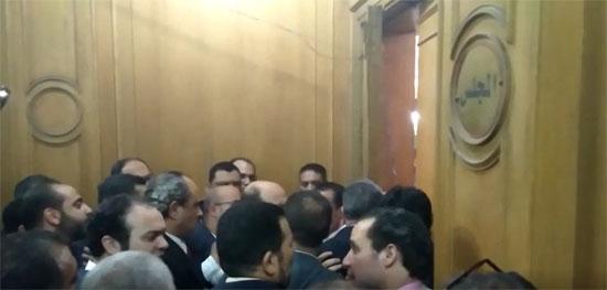 تجدد الاشتباكات بنقابة المحامين