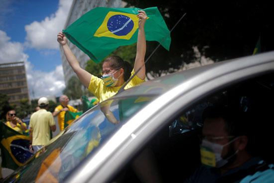 الاحتجاج بالبرازيل