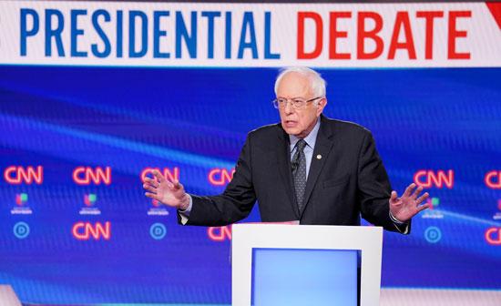 المرشح-الديمقراطي-للرئاسة-الأمريكية-السناتور-بيرني-ساندرز