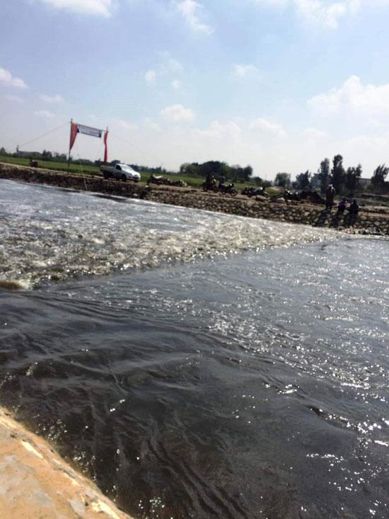 غرق الأرضي الزراعية وعشرات المنازل بقرية بحر البقر (15)