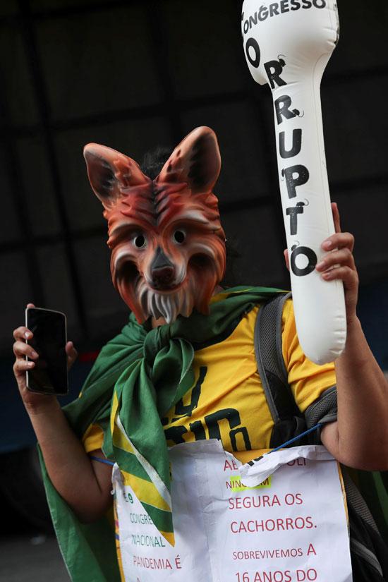 الاحتجاجات فى البرازيل
