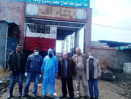 تطهير المصالح الحكومية ببلقاس لمواجهة كورونا بعد وفاة الحالة الثانية في مصر