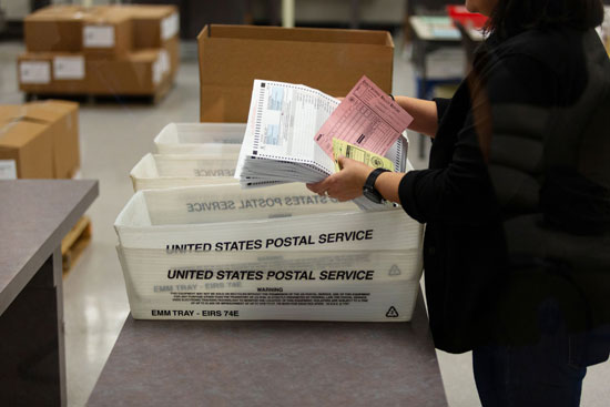 بطاقات الإقتراع