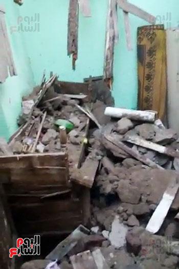 سقوط-حوائط-المنازل