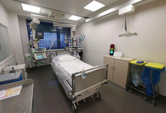 إحدى المستشفيات فى ألمانيا