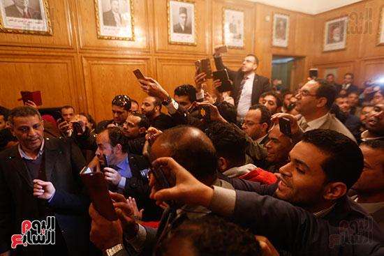 احتفالات الفوز بنقابه المحامين