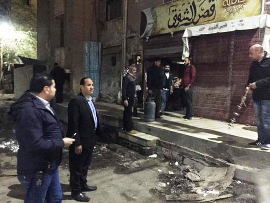 حملات على المقاهى لمصادرة الشيش (17)