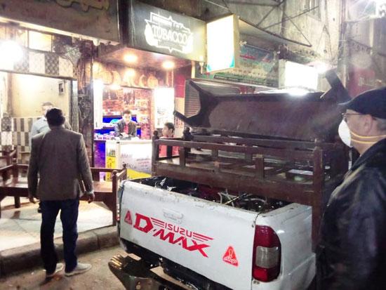 حملات على المقاهى لمصادرة الشيش (19)