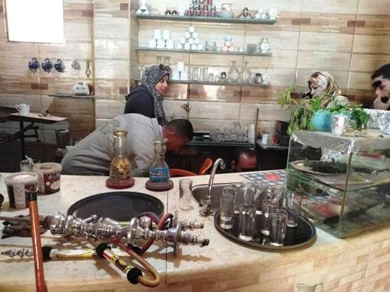 حملات على المقاهى لمصادرة الشيش (13)