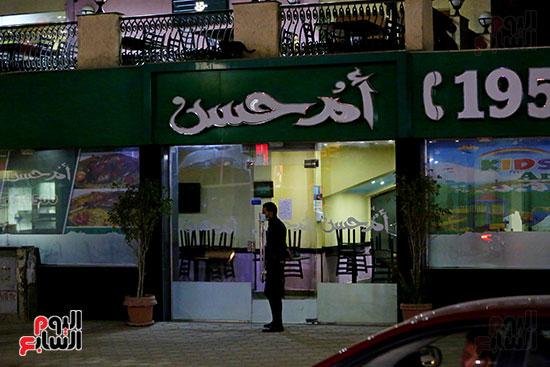 إغلاق المطاعم والكافيهات (10)
