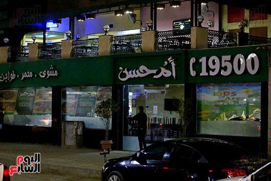 إغلاق المطاعم والكافيهات (9)