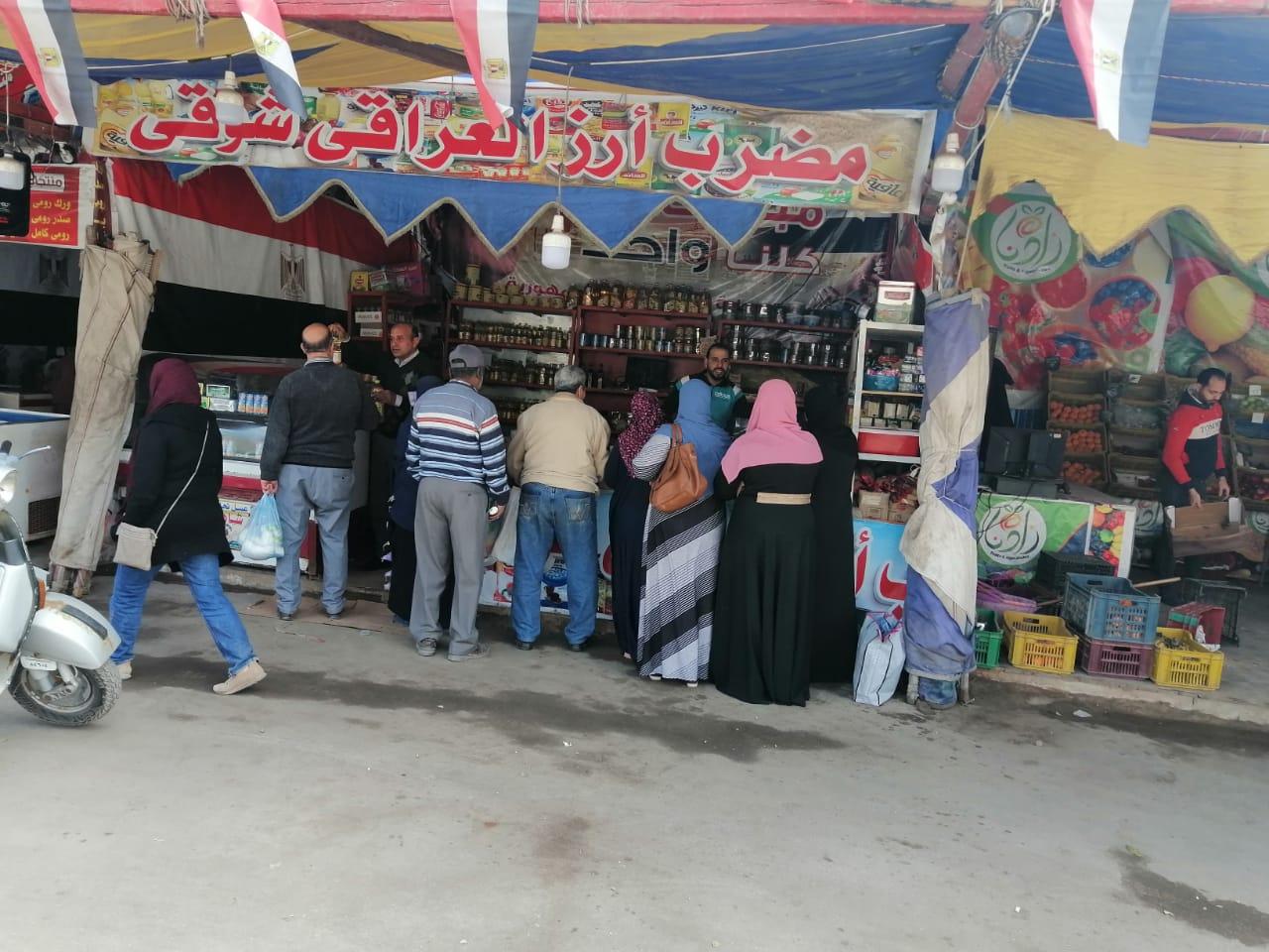 اسواق تحيا مصر للخضر والفاكهة بالغربية (4)
