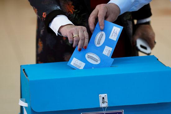 الناخبون-يدلون-بأصواتهم-فى-انتخابات-الكنيست