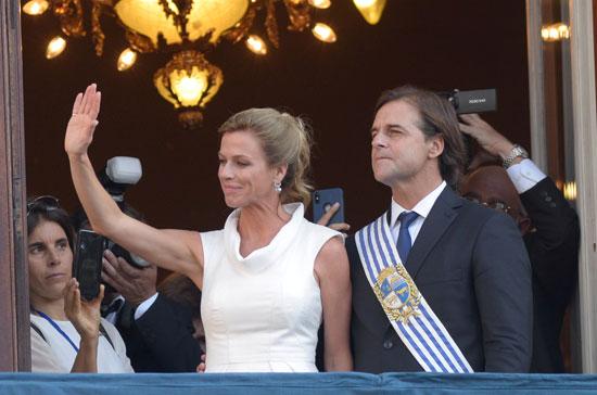 رئيس أورجواى الجديد لويس لاكال