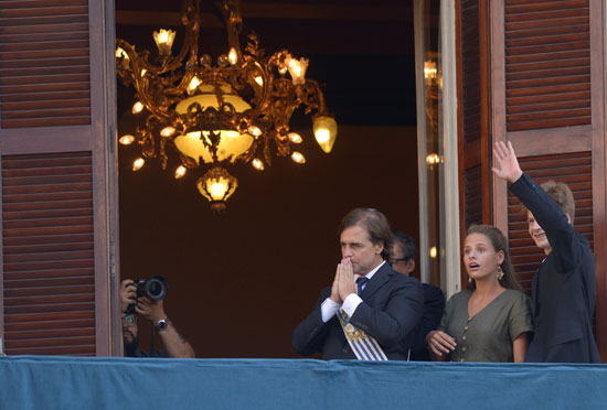 رئيس أورجواى لويس لاكال