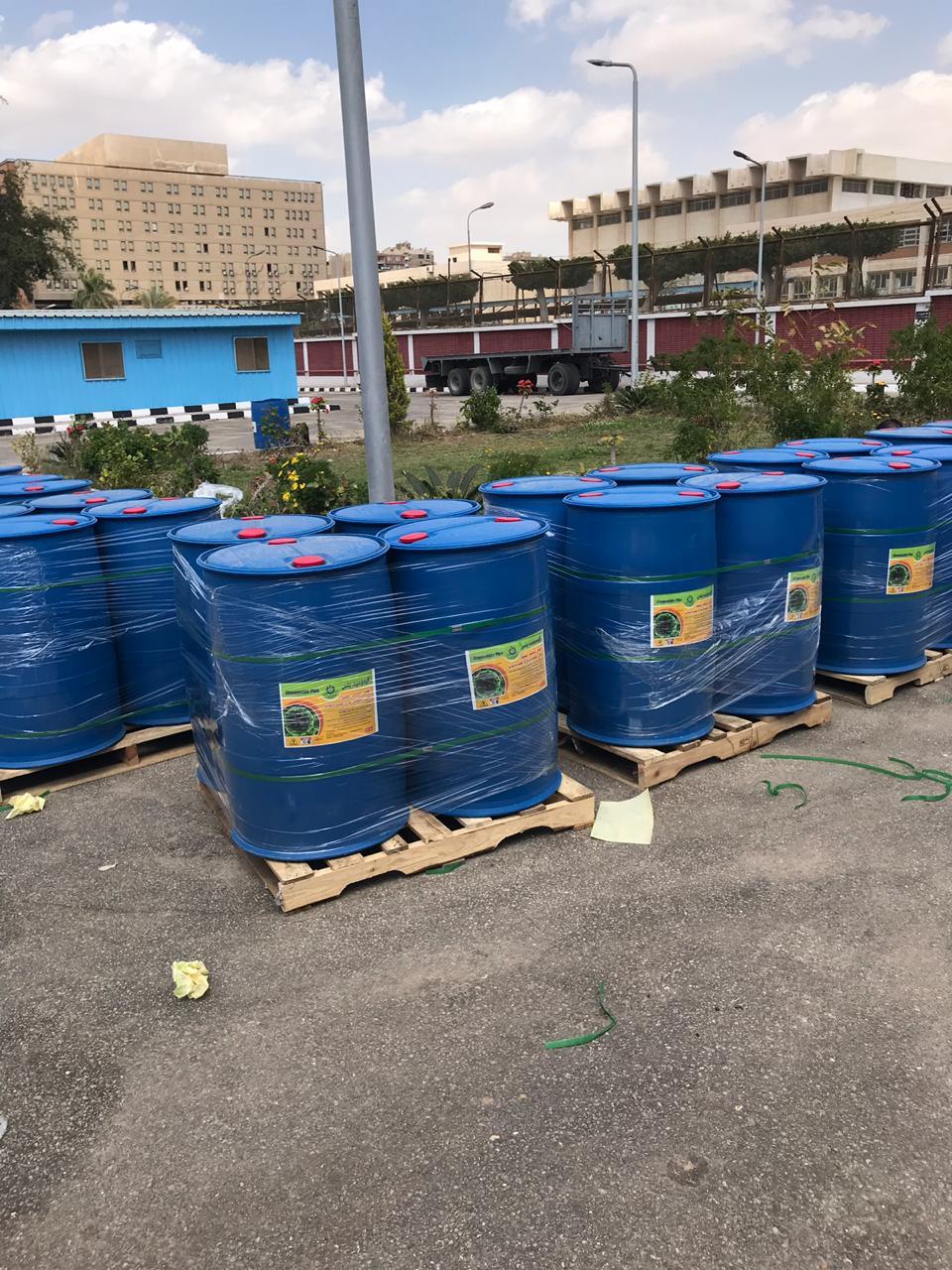 مواد مطهرة إنتاج معهد بحوث البترول
