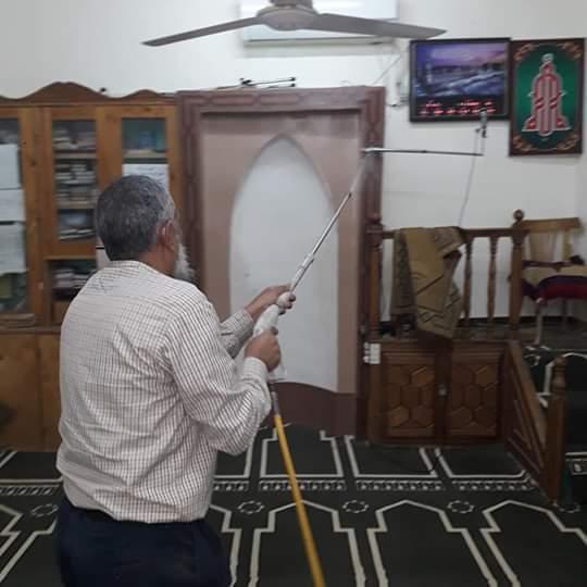 تطهير وتعقيم المساجد في شرم الشيخ لمواجهة كورونا (3)