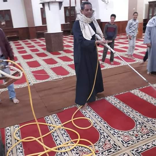 تطهير وتعقيم المساجد في شرم الشيخ لمواجهة كورونا (1)