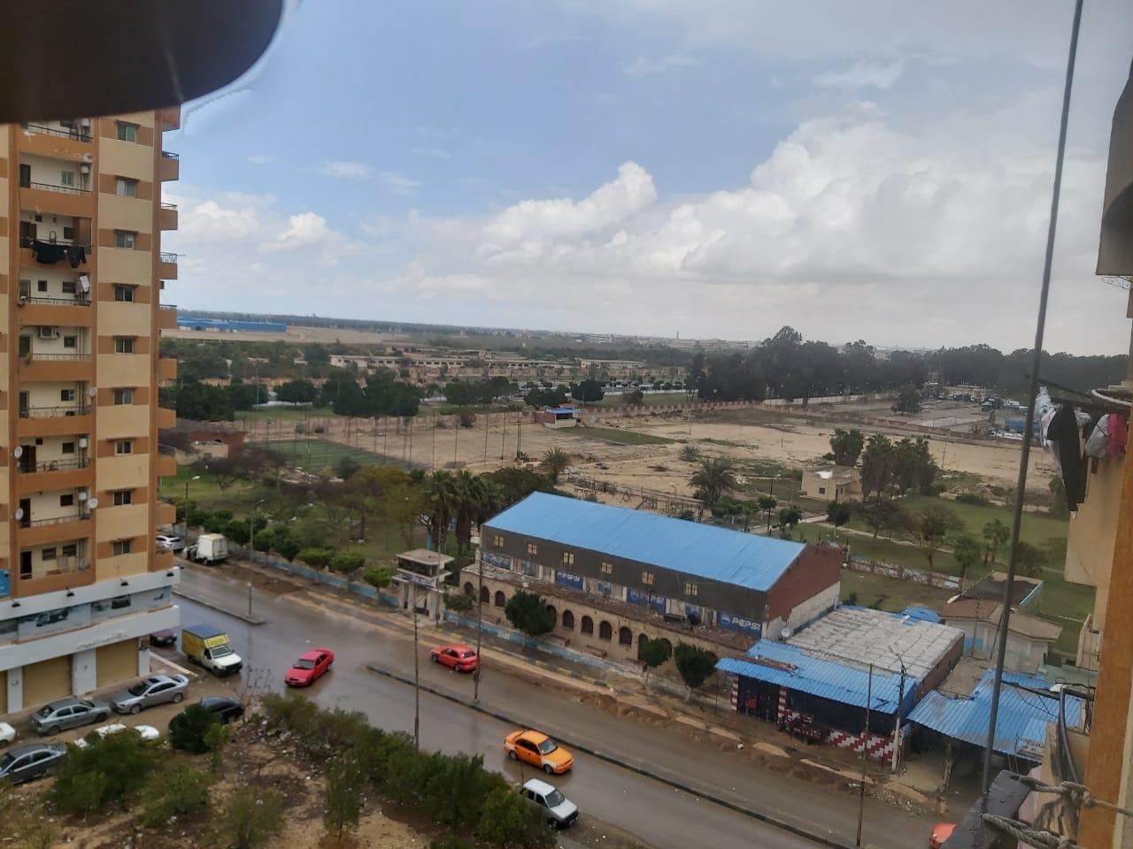 سقوط أمطار على الإسماعيلية  (2)
