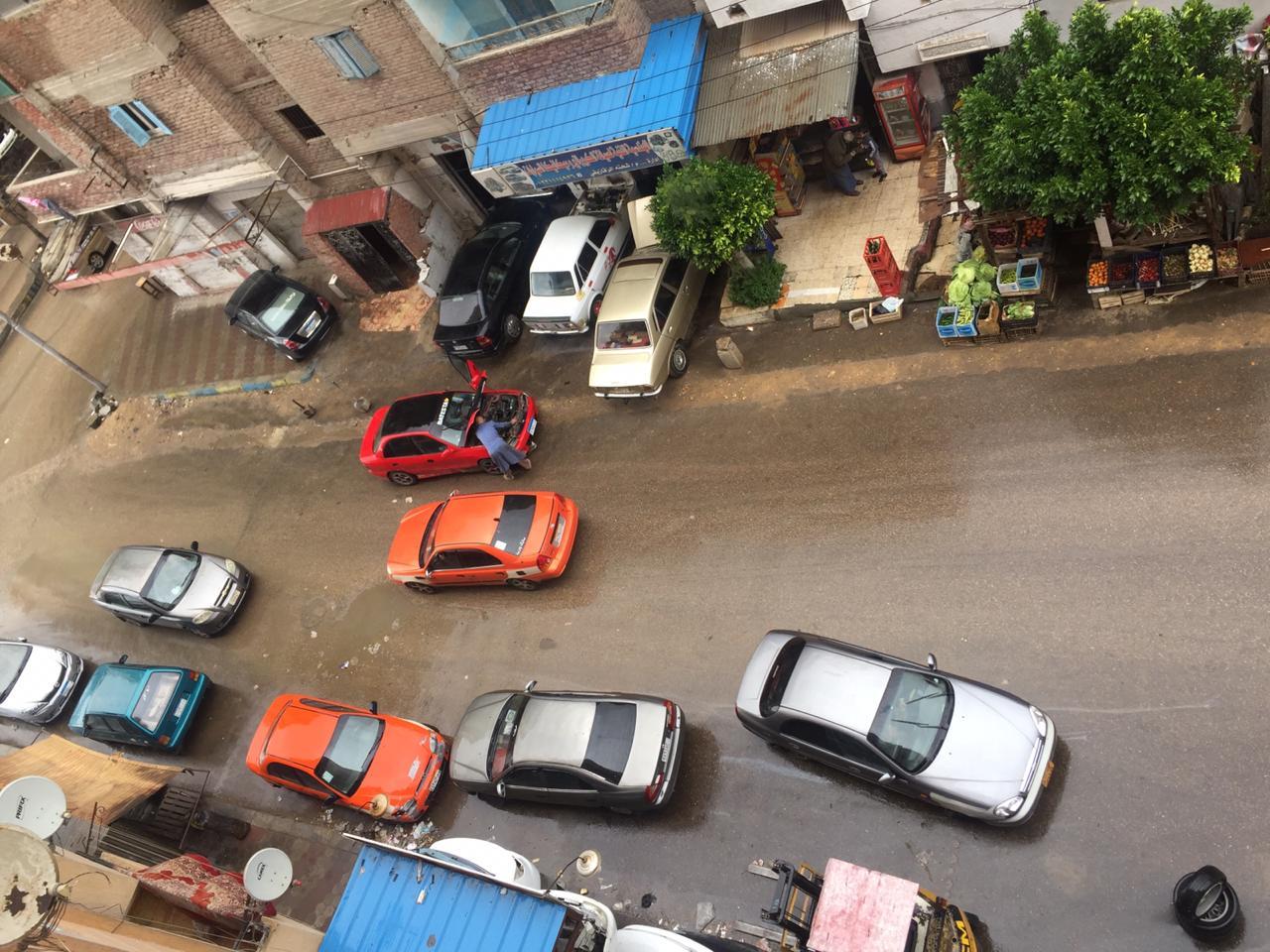 سقوط أمطار على الإسماعيلية  (6)
