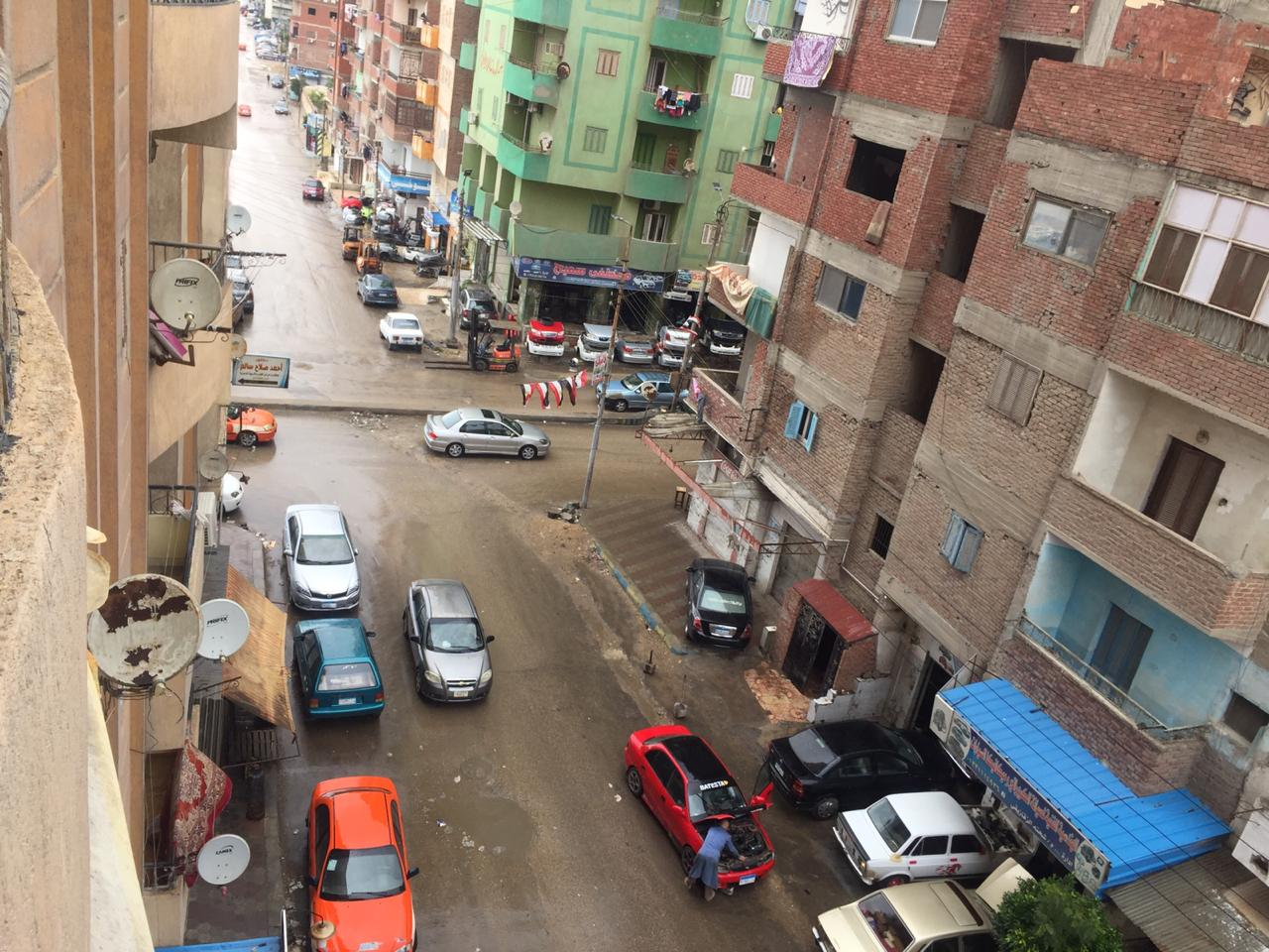 سقوط أمطار على الإسماعيلية  (4)