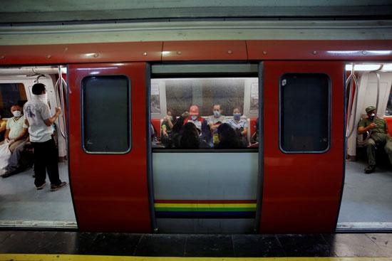 احتياطات مترو الانفاق